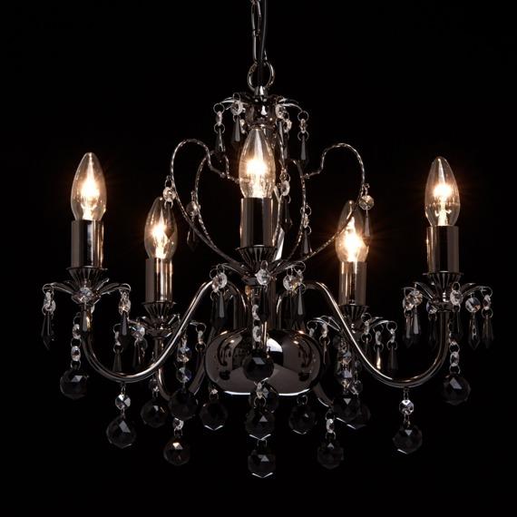 Żyrandol z kryształkami MW-Light Classic 313010105