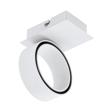 Eglo Albariza 39584 Kinkiet Okrągły Biały